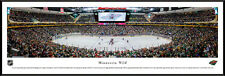 Minnesota Wild Panoramic  Xcel Energy Center Photo Picture NEW