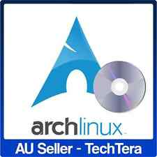 Arch Linux 4.8.13 - 32/64Bit Bootable DVD OS