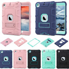 Shockproof Slim Armor Defender Hard Case Cover Stand For Apple iPad Mini 1/2/3