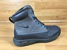 NIKE WOMENS ACG LUNARSTORM BOOT / DARK GREY - TURQUOISE