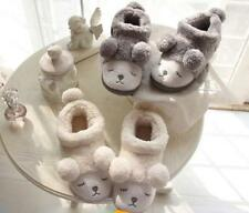 New Winter Warm Cotton Slippers For Women Home Soft Plush Indoor Floor Shoes