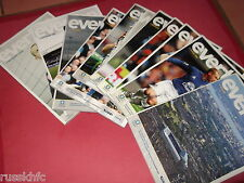 2010/11 EVERTON HOME PROGRAMMES CHOOSE FROM