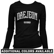 Daejeon Korea Women's Long Sleeve T-shirt - LS S-2X Gift South Korean Citizen FC