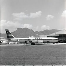 """Boeing 707 BOAC Kai Tak Airliner Limited Edition Photograph 13"""" or 20"""""""