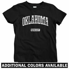 Oklahoma Represent Kids T-shirt - Baby Toddler Youth Tee - Gift City State OSU