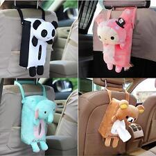 Cartoon Plush Car Seat Home Tissue Box Paper Napkin Cover Holder Case Soft Toy Y