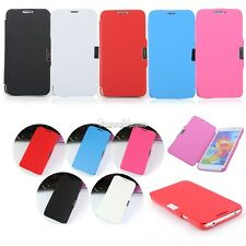PU Leather Magnetic Clasp Flip Hard Case Cover For Samsung Galaxy S5 I9600 SH