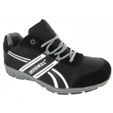 Mens Grey GROUNDWORK ULTRA LIGHTWEIGHT Steel Toe Cap Safety Trainers Shoes Boots