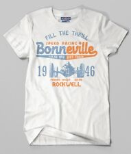 Bonneville Speed Racing. Short Sleeve T-shirt.