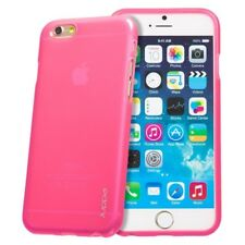 """iPhone 6/6s 4.7"""" Strong TPU Gel Silicon Rubber Back Case Cover +Screen Protector"""