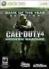 Call of Duty 4: Modern Warfare - Game of the Year Edition Xbox 360 - Complete