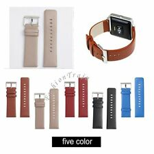 Genuine Leather Watch Band Wrist Replacement Strap For Fitbit Blaze Smart Watch