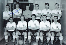 HAND SIGNED 12x8 PHOTO - ENGLAND 1956 MAURICE NORMAN