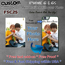 Personalized Custom Photo foto Picture Selfie Phone case for Apple iPhone 6 & 6s