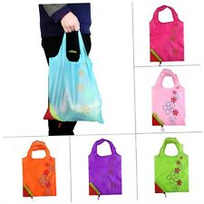 1 pc Strawberry Foldable Shopping Bag Tote Reusable Eco Friendly Grocery Bag PG