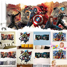 Home Room Wall Decor 3D Removable Wall Sticker DIY Mural Vinyl Decal Decoration