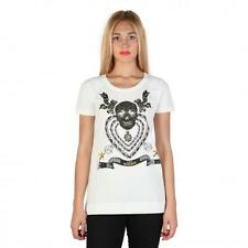Love Moschino Clothing Women T-shirts White 74793 Outlet BDX