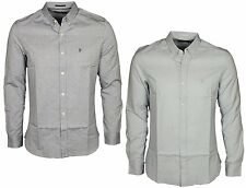 MENS CASUAL LONG SLEEVE SHIRT FRENCH CONNECTION 52HCV IN 2 COLOURS SIZES S - XXL