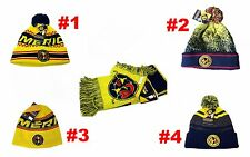 New 2017 Club America FC Scarf Peruvian Beanie Hat Cap Official Licensed Rhinox