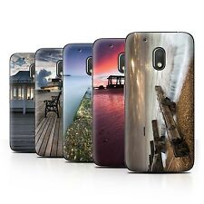 STUFF4 Phone Case/Back Cover for Motorola Moto G4 Play /English Seaside