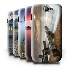 STUFF4 Back Case/Cover/Skin for Samsung Galaxy W/I8150/English Seaside