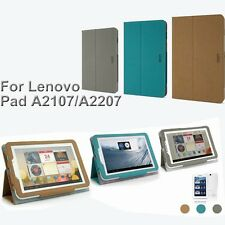Mofi PU Leather Folio Tablet PC Case Cover With Stand Lenovo IdeaTab A2107 A2207