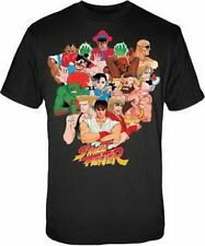 Street Fighter Characters Ryu Ken Chun-Li Blanka Sagat Youth Shirt