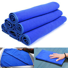 2016 Blue Microfiber Towel Kitchen Wash Auto Car Home Cleaning Wash Clean Cloth