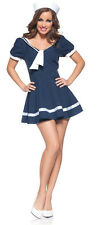 Sexy  Women's Pin Up Sailor Costume Halloween Party Costume Dress & Hat Reg 39.9