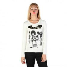 Love Moschino Clothing Women T-shirts White 74759 Deal BDX