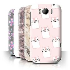 STUFF4 Back Case/Cover/Skin for HTC Sensation XL/G21/Pink Fashion