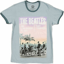 Beatles Men's  Day Tripper T-shirt Blue Rockabilia