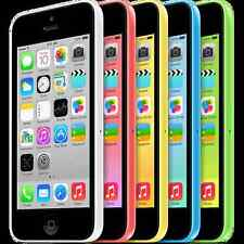 USED Apple iPhone 5c 8GB 16GB WHITE GREEN BLUE PINK YELLOW Boost Mobile FAIR CON