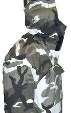 ANORAK PARKA HOODED JACKET URBAN Camouflage  S,M,L,XL,2XL,