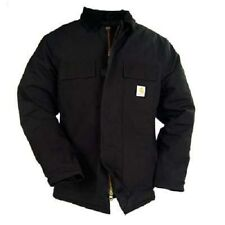 Carhartt C003 BLACK Men's Arctic Quilt Lined Duck Traditional Coat Mix Sizes