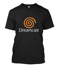 New Dreamcast Sega Logo Short Sleeve Men's Black T-Shirt Size S to 5XL
