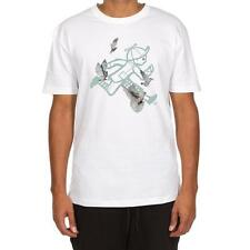 Play Cloths Running Sings SS TEE 671-1202 White T-Shirt Brand New WithTags 2017