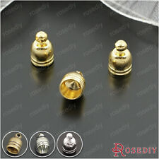 50PCS inside:4.5MM Brass Wire Caps Rope Caps Jewelry Findings Accessories 25836