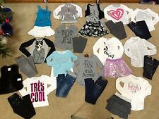 Justice Girls Outfits  DKNY shirts Leggings Skorts Jeans sz10