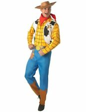 Woody Toy Story Mens Adult Fancy Dress Party Costume Western Cowboy Outfit