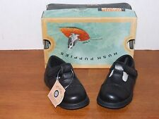 Hush Puppies Aries Black Leather Dress Shoes
