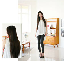 New 70cm Sexy Women Girl Long Straight Hair Hot Cosplay Party Full Wig