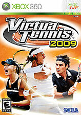 Virtua Tennis 2009 Microsoft Xbox 360 GAME
