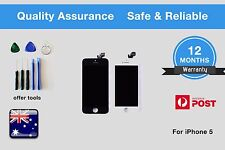 Apple iPhone 5 5G  LCD Digitizer Screen Replacement +Tools