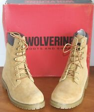 """Wolverine Gold Leather 8"""" Waterproof Insulated Boots"""