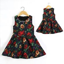 Baby Kid Girl Wedding Formal Birthday Party Flower Dress Outfit Clothes Age 2-5
