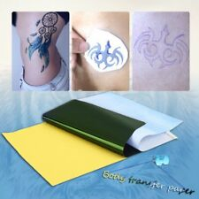 10Sheets Tattoo Transfer Carbon Paper Supply Tracing Copy Body Stencil A4 I5