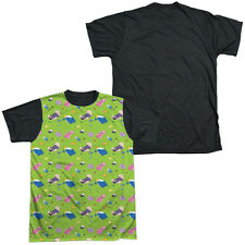 ADVENTURE TIME GREEN FIELDS Sublimation Men's Graphic Tee Shirt SM-3XL