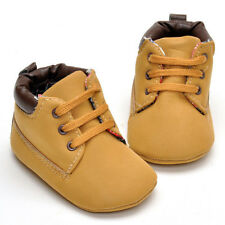 Infant Toddler Newborn Winter Warm Soft Sole Crib Shoes Boots Size 0-18 Months