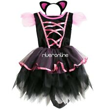 Cute Toddler Girls Tutu Party Fairy Fancy Dress Cosplay Costume Outfit Headband